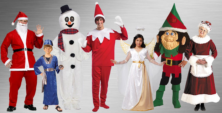 Santa Group Costumes