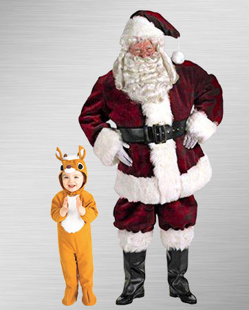 Santa and His Reindeer Costume