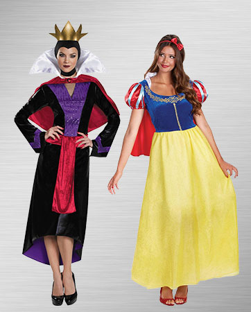 Snow White and Evil Queen Costumes