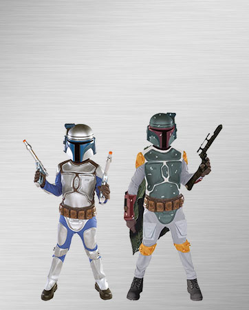 Boba Fett and Jango Fett Child Costumes