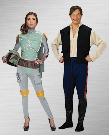 Boba Fett and Han Solo Costumes