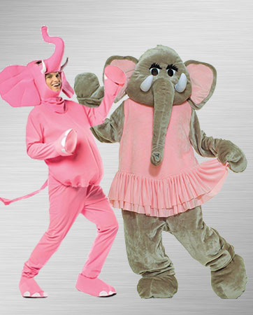 Elephant Pair Costumes