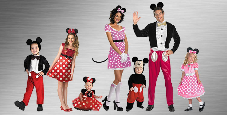 Minnie Mouse Group Costume Ideas