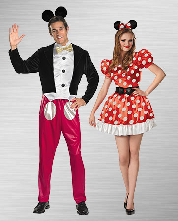 Minnie Mouse Duo Adult Costumes