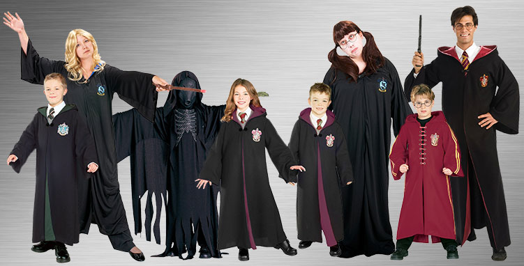 Witch and Wizard Group Costume Ideas