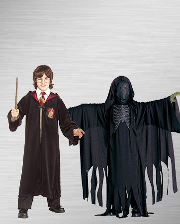 Harry Potter and Dementor Costumes