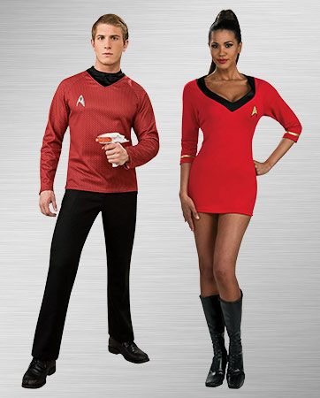 Red Couple Costumes