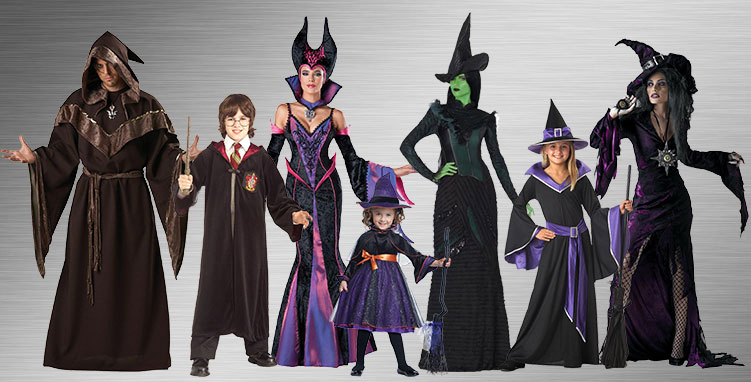 Witch and Wizard Costume Ideas