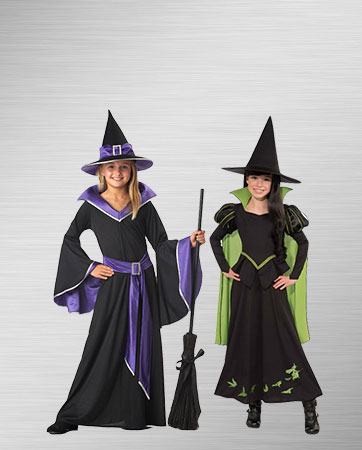 Pair of Witches Costumes