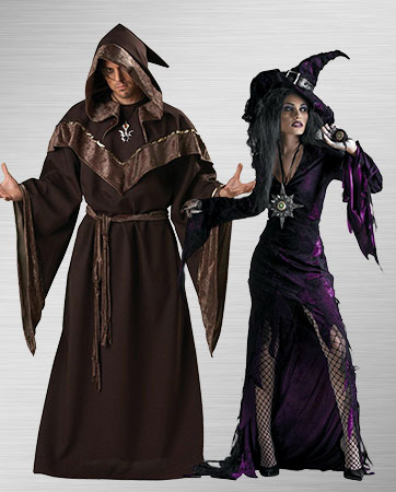 Sorcerer and Sorceress Costumes