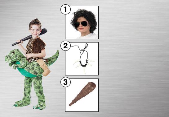 Dino Rider Costume Accessories