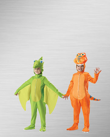 Buddy and Tiny Dinosaurs Costumes