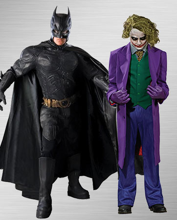Joker and Batman Costumes