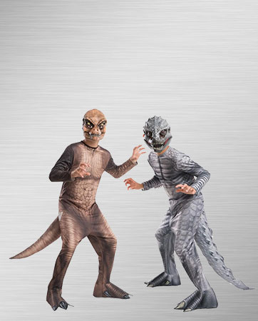 Indominus Rex and T-Rex Costumes