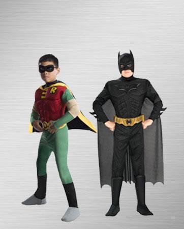 Batman and Robin Kid's Costumes