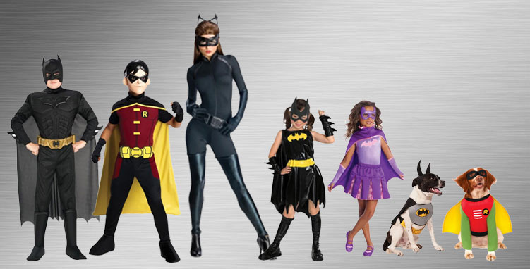 Batman and Robin Group Costume Ideas