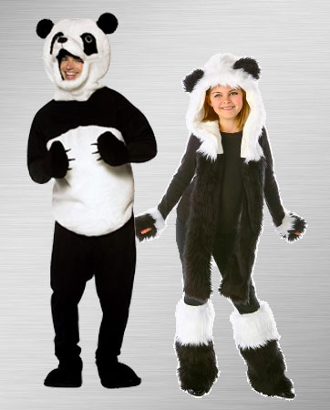 Panda Couple Costumes