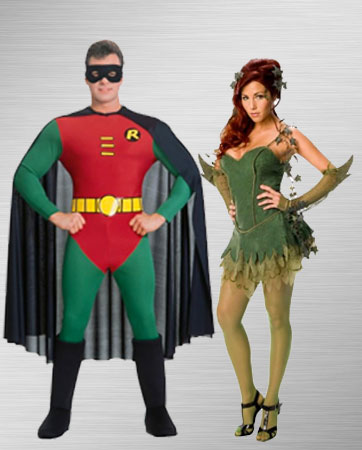 Robin and Poison Ivy Costumes