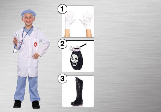 Barbie Halloween Costume Kids.Doctor And Nurse Costumes Halloween Costumes Buycostumes Com