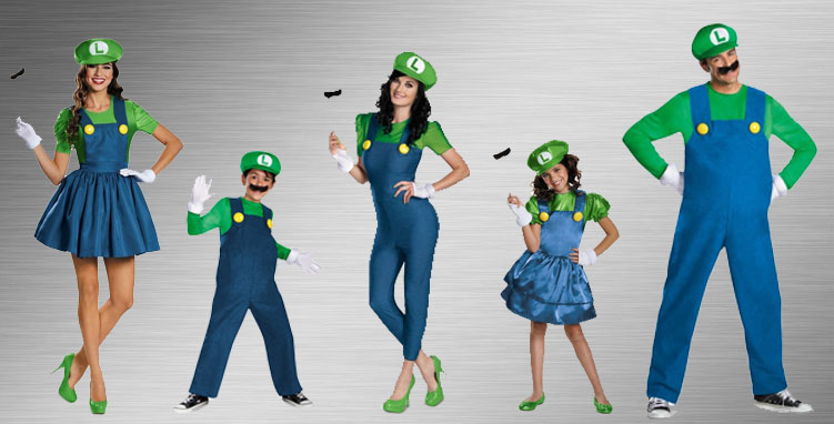 Luigi Costume Ideas