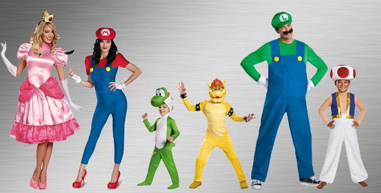 Luigi Group Costume Ideas