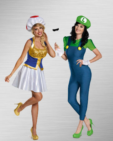 Toad and Luigi Costumes