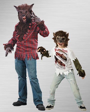 Brown Werewolves Costumes