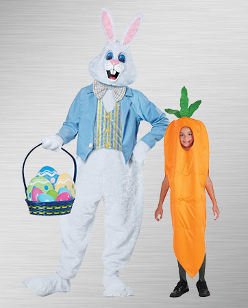 Easter Bunny and Carrot Costumes