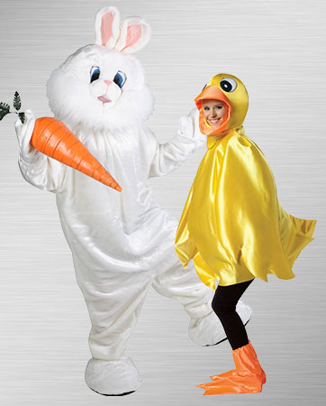 Bunny and Duck Costumes