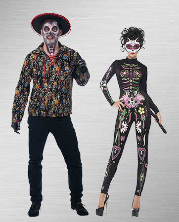 Day of the Dead Couple Costumes