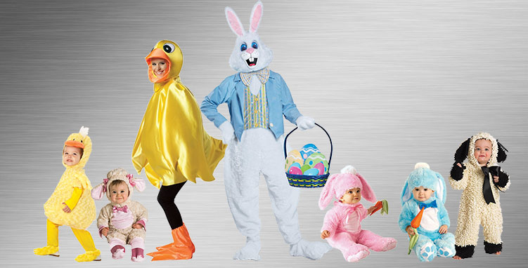 Easter Bunny Group Costume Ideas