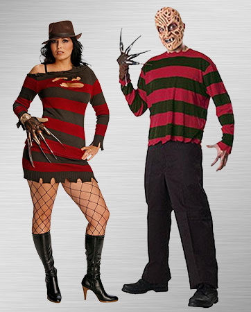 Freddy Krueger Couple Costumes