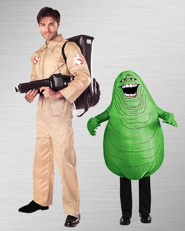 Ghostbuster and Slimer Costumes