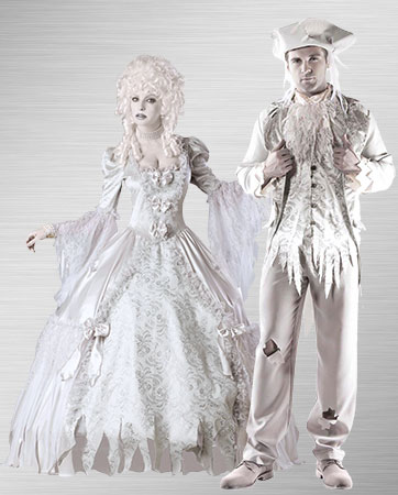 Ghost Couple Costumes