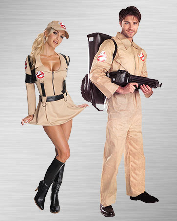 Ghostbusting Couple Costumes