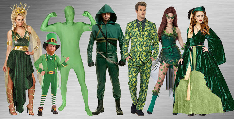St. Patrick's Day Group Costume Ideas