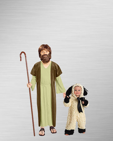 Jesus and Lamb Costumes