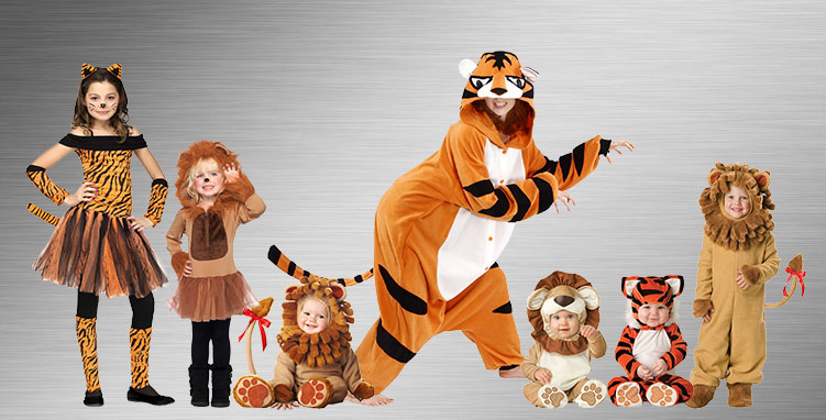 Lion and Tiger Costume Ideas