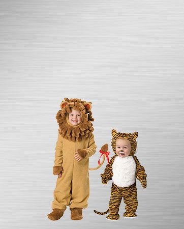 Lion and Tiger Babies Costumes
