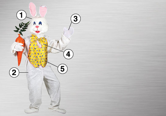 Professional Easter Bunny Ultimate Costume