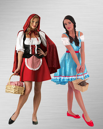 Red Riding Hood and Dorothy Costumes