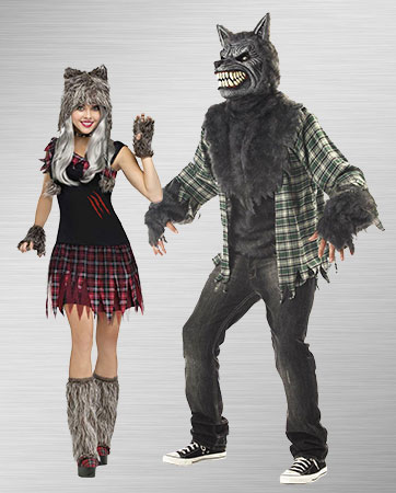 Werewolf Couple Costumes