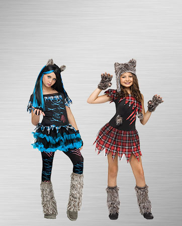 Girl Werewolves Costumes