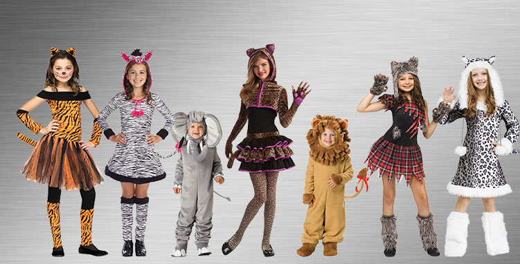 Lion and Tiger Group Costume Ideas